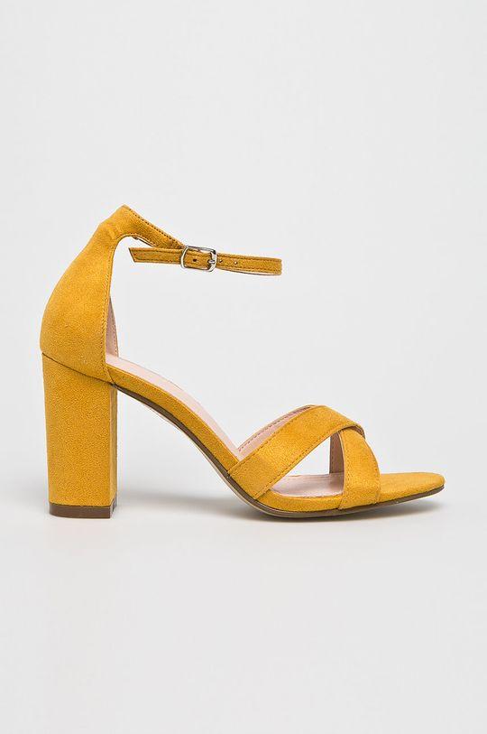 sárga Answear - Szandál Ideal Shoes Női