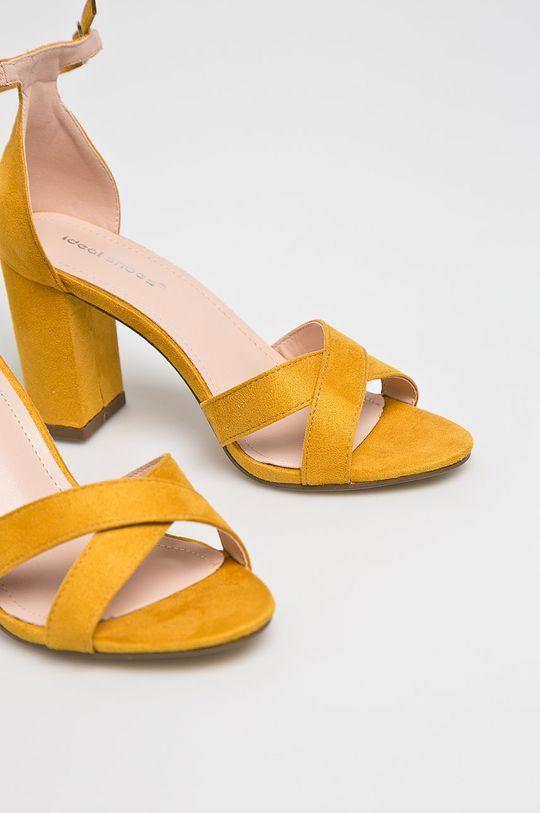 Answear - Szandál Ideal Shoes sárga