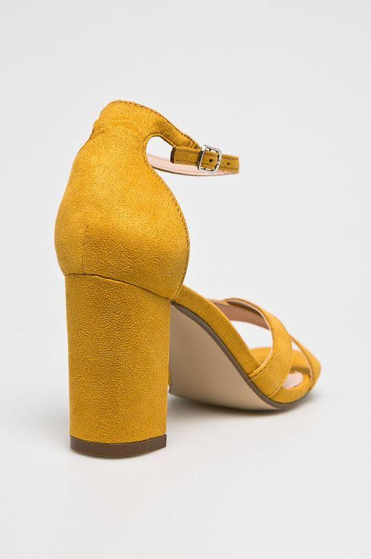 Answear - Szandál Ideal Shoes  Szár: textil Belseje: szintetikus anyag, textil Talp: szintetikus anyag