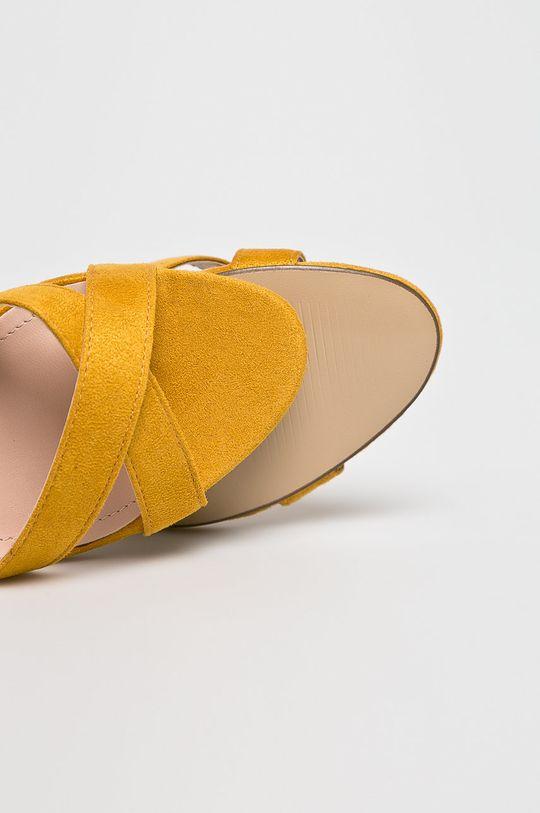 sárga Answear - Szandál Ideal Shoes
