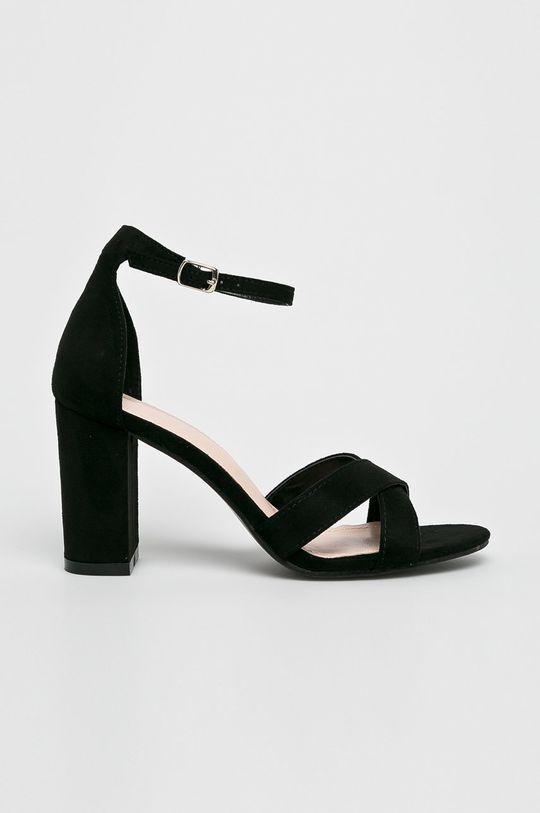 fekete Answear - Szandál Ideal Shoes Női