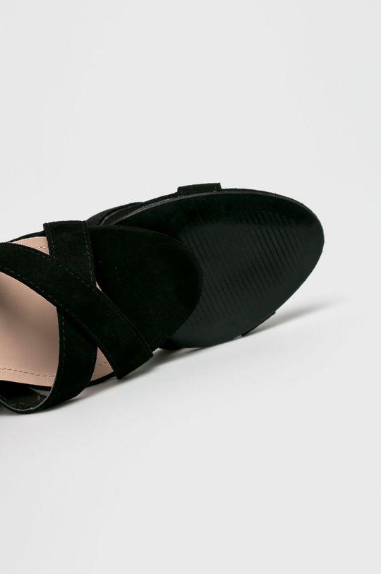 fekete Answear - Szandál Ideal Shoes