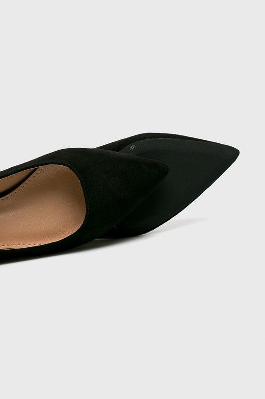 fekete Answear - Balerina Lovery