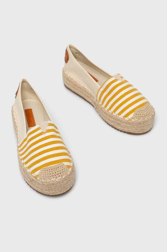 Answear - Espadrilles Bellucci sárga