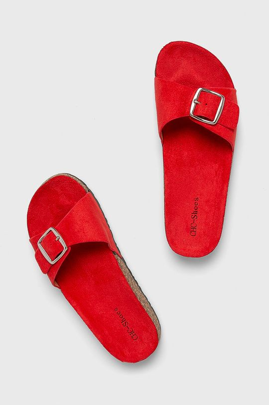 Answear - Papucs cipő Chc-Shoes piros