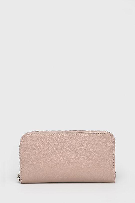 pastelowy różowy Answear Lab - Portfel skórzany Damski