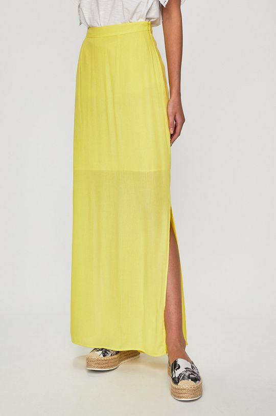żółty Answear Lab - Spódnica Damski