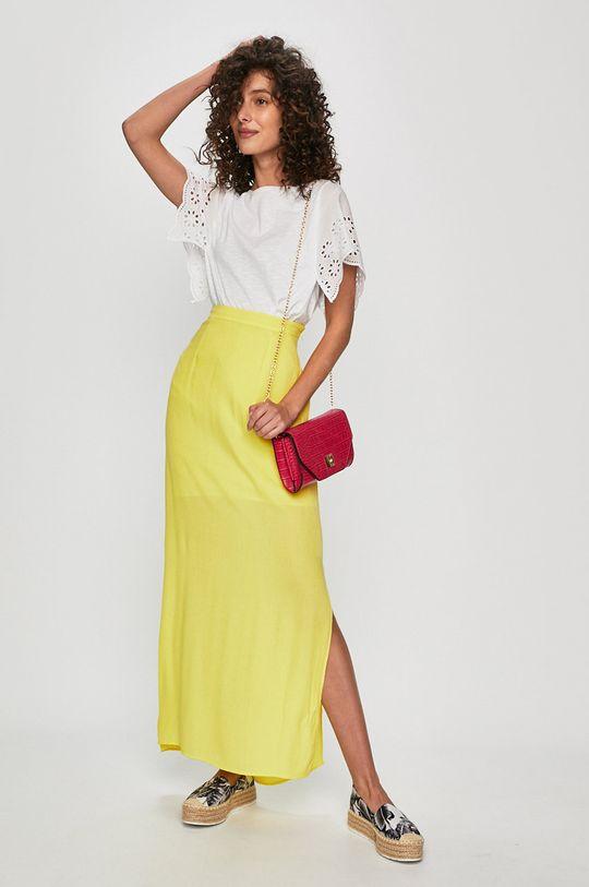Answear Lab - Spódnica żółty