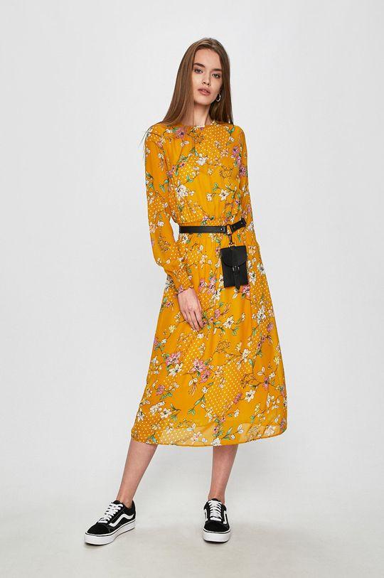 Answear - Šaty Secret Garden žlutá