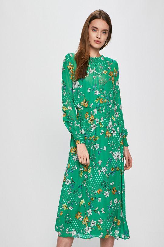 zelená Answear - Šaty Secret Garden Dámský