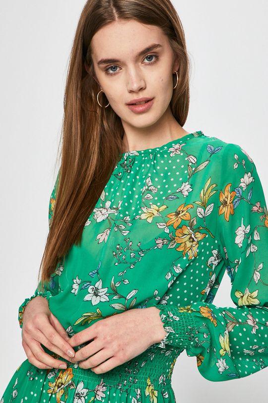 Answear - Šaty Secret Garden zelená