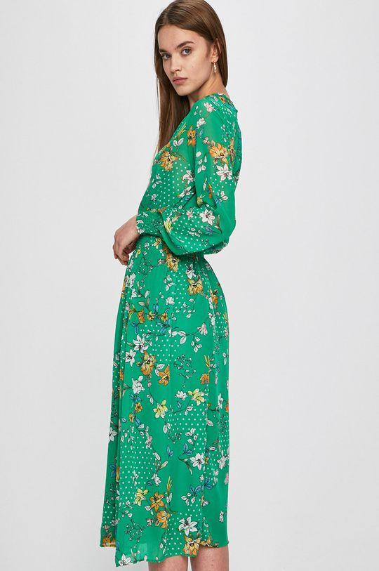 zelená Answear - Šaty Secret Garden