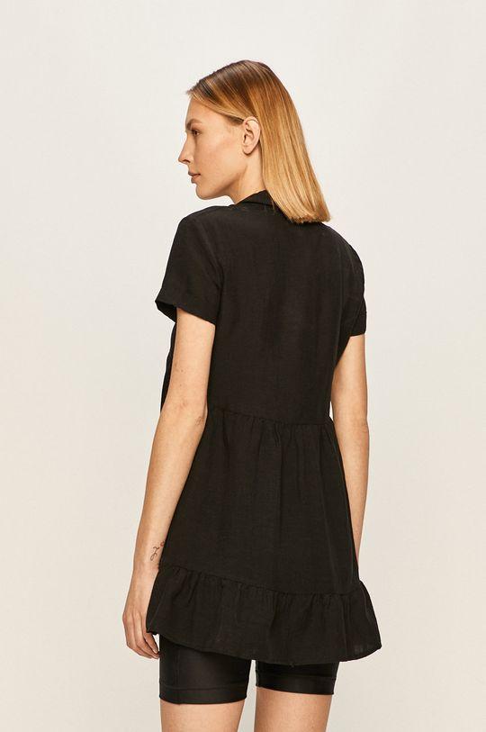 Answear Lab - Sukienka 37 % Len, 63 % Wiskoza,