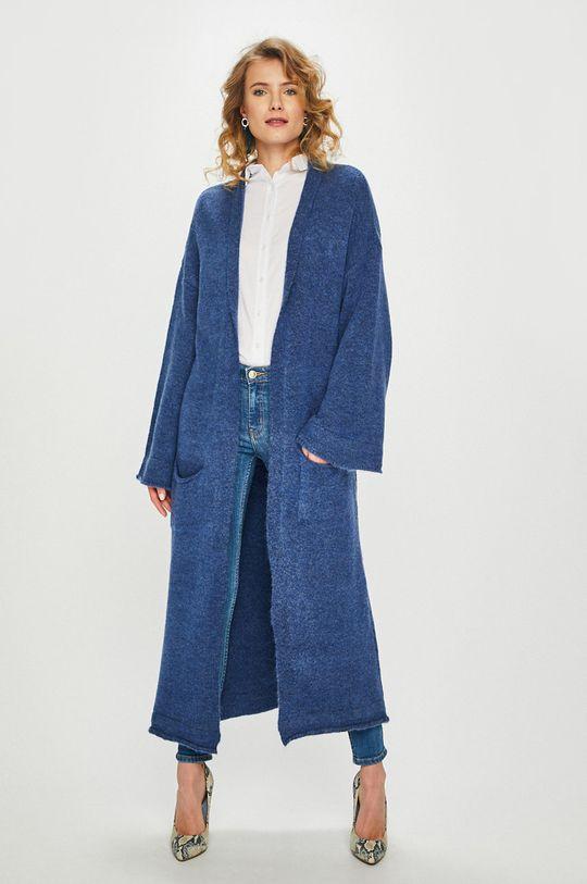bleumarin Answear - Cardigan De femei