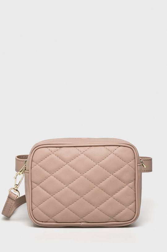 roz pastelat Answear - Poseta de piele De femei
