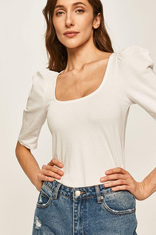 бял Answear - Блуза Жіночий