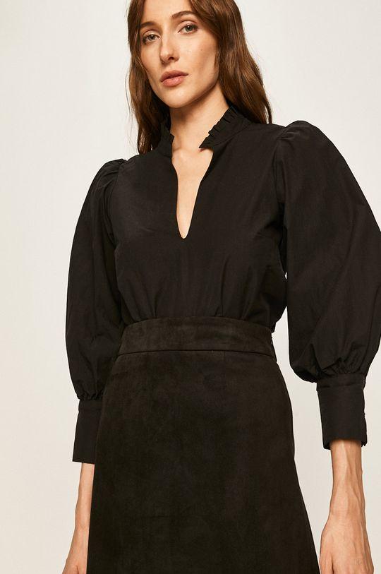 черен Answear - Блуза Жіночий