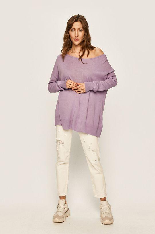 Answear - Пуловер виолетов