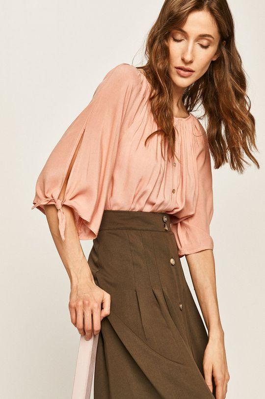 розов Answear - Блуза Жіночий