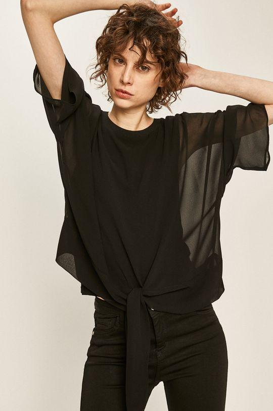 czarny Answear - Bluzka