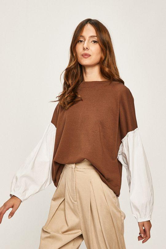 bej Answear - Bluza De femei