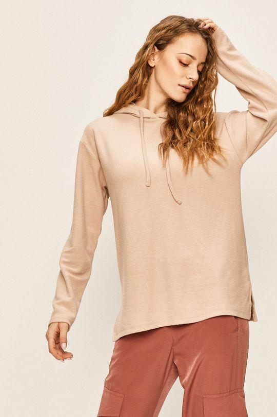 roz pastelat Answear - Bluza De femei
