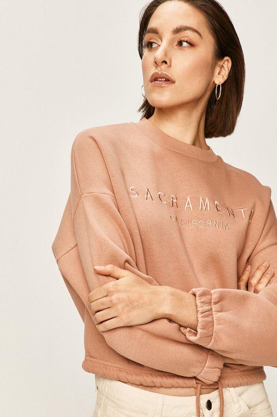 roz murdar Answear - Bluza De femei