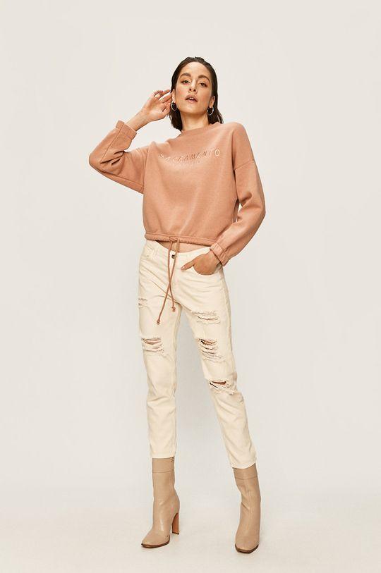 Answear - Bluza roz murdar