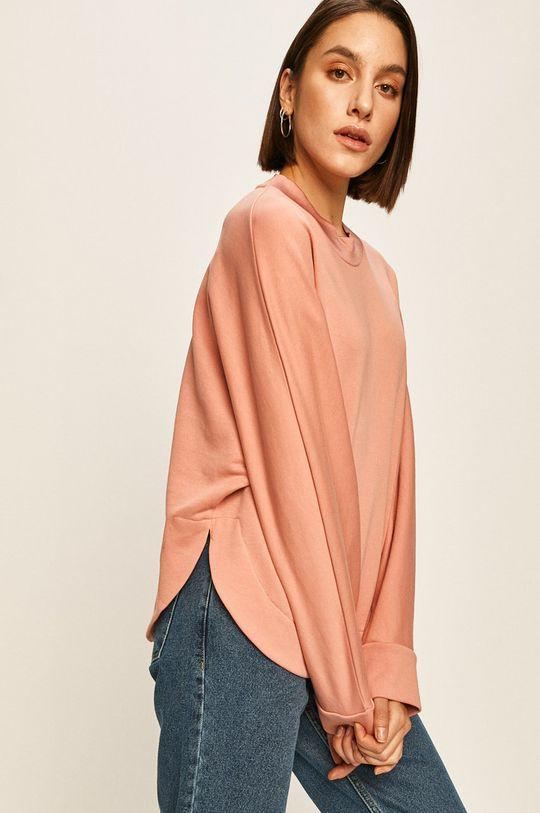 różowy Answear - Bluza Damski