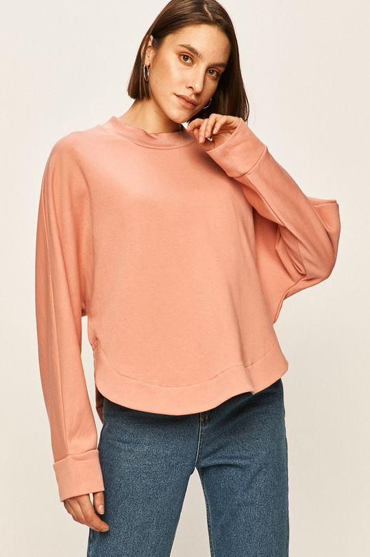 różowy Answear - Bluza