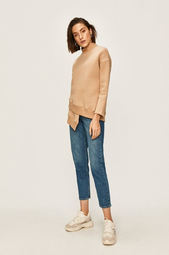 Answear - Bluza maro auriu