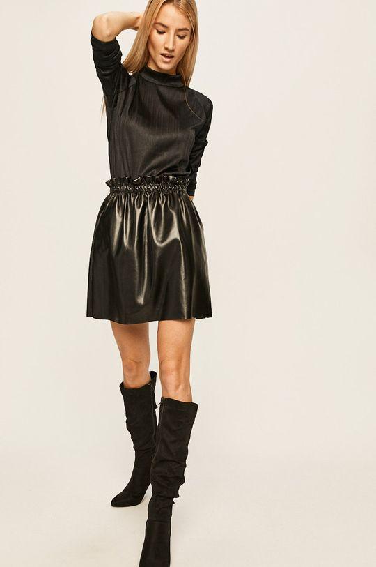 negru Answear - Longsleeve De femei