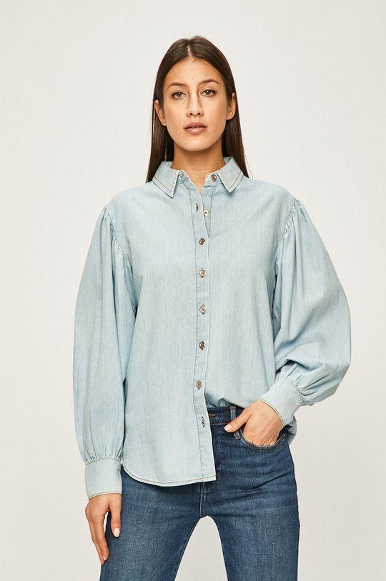 albastru Answear - Camasa jeans De femei