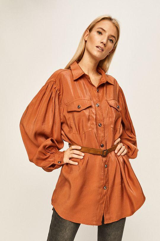 portocaliu Answear - Camasa De femei