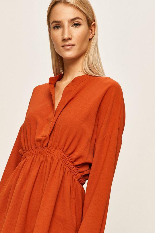 portocaliu Answear - Bluza