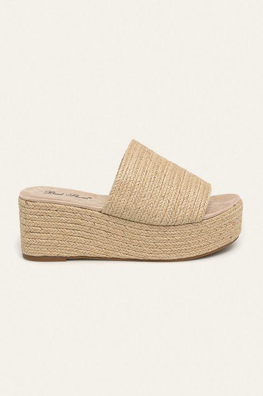 béžová Answear - Šľapky Best Shoes Dámsky