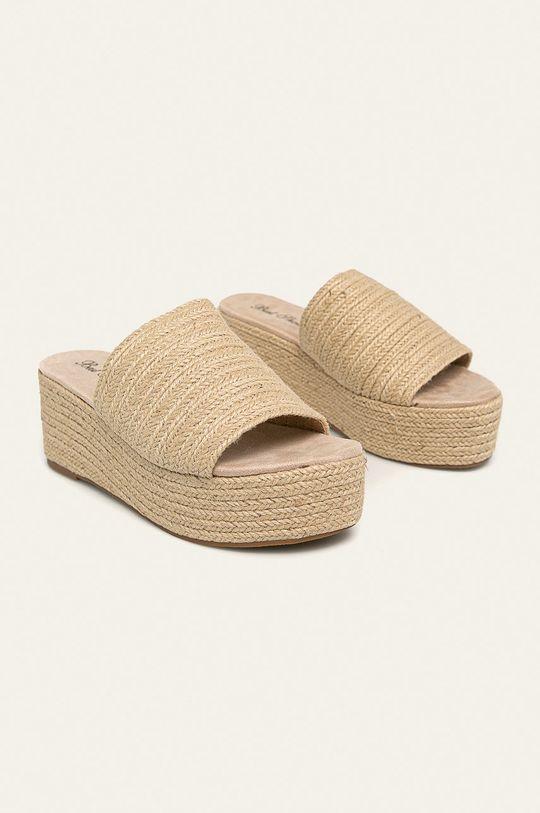 Answear - Šľapky Best Shoes béžová