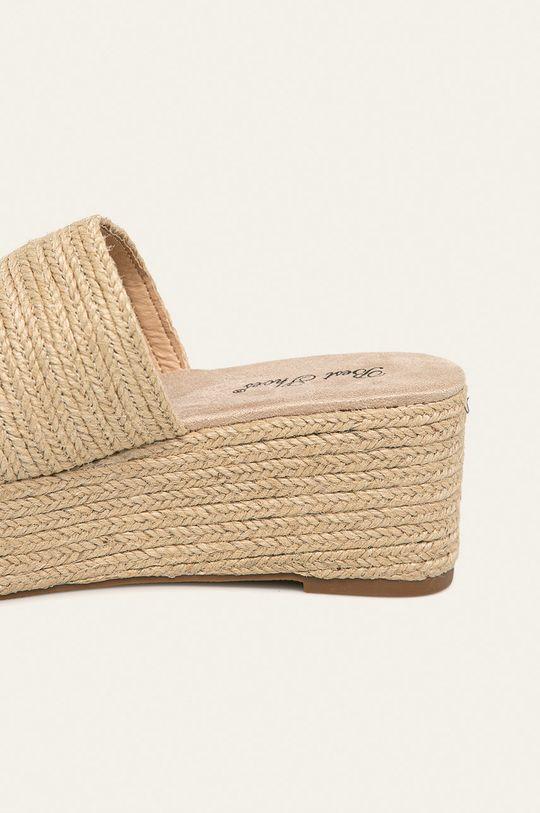 Answear - Šľapky Best Shoes  Zvršok: Syntetická látka, Textil Podrážka: Syntetická látka Vložka: Textil