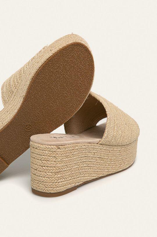 béžová Answear - Šľapky Best Shoes