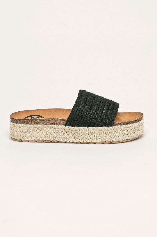 negru Answear - Papuci WK De femei