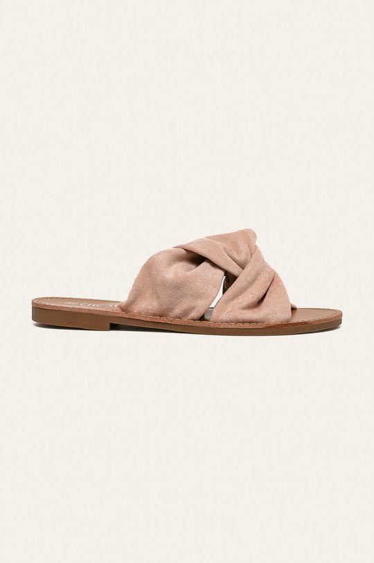 roz Answear - Papuci CHC SHOES De femei