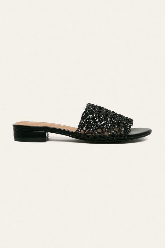 negru Answear - Papuci CHC SHOES De femei