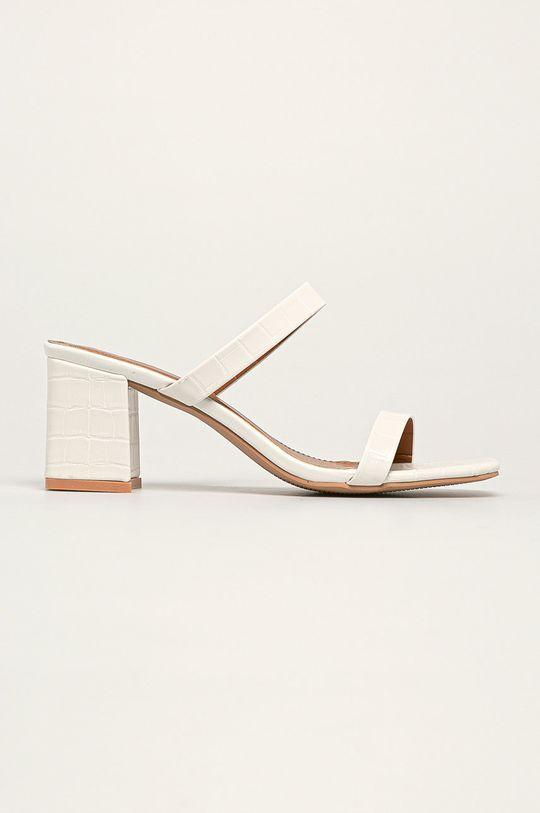 alb Answear - Papuci Sweet Shoes De femei