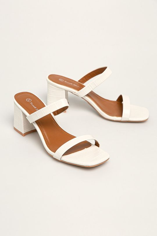 Answear - Papuci Sweet Shoes alb