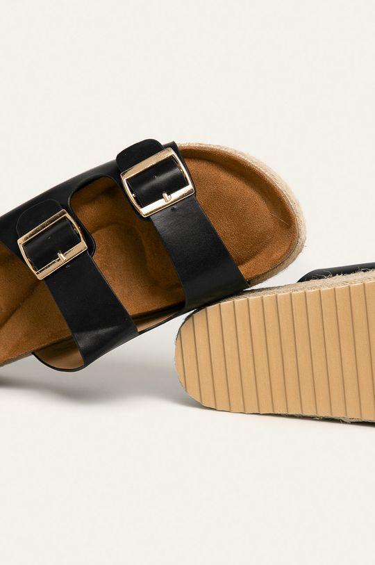 černá Answear - Pantofle Buanarotti
