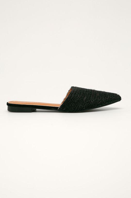 negru Answear - Papuci Ideal Shoes De femei