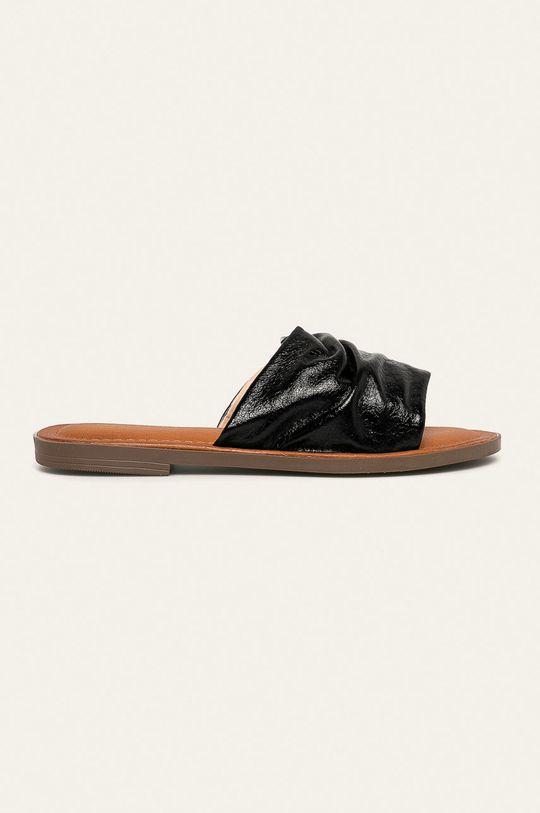 černá Answear - Pantofle Ideal Shoes Dámský