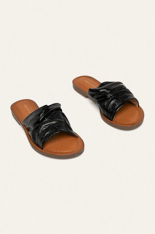 Answear - Pantofle Ideal Shoes černá