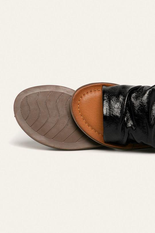 černá Answear - Pantofle Ideal Shoes