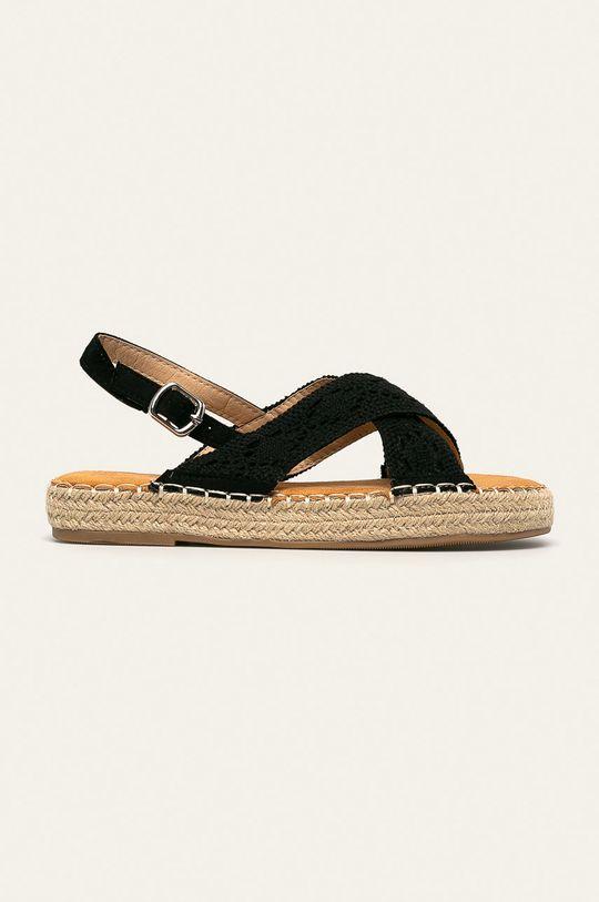 černá Answear - Sandály Best Shoes Dámský